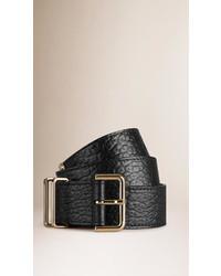 Burberry Signature Grain Leather Belt
