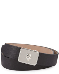 Skull plate buckle belt medium 592246
