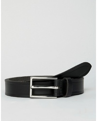 Esprit Slim Leather Smart Belt In Black