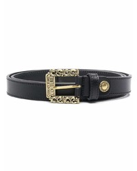 VERSACE JEANS COUTURE Square Buckle Leather Belt