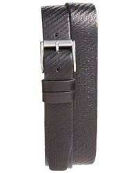 John Varvatos Star Usa Textured Leather Belt