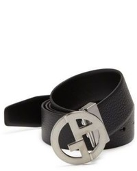 Giorgio Armani Textured Leather Belt