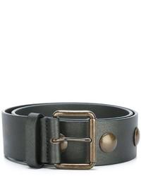 Tomas Maier Bronze Tone Hardware Belt