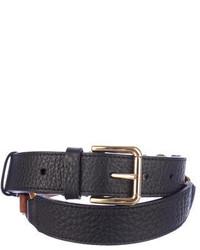 Dolce & Gabbana Two Tone Leather Belt