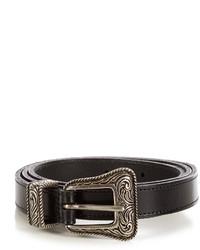 Saint Laurent Western Leather Belt