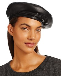 Marzi Padded Leather Beret