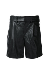 Saint Laurent High Waisted Shorts