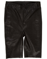 Veda Leather Bermuda Shorts W Tags