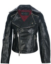 DSquared 2 Leather Biker Jacket