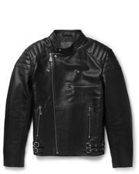 McQ Alexander Ueen Quilted Leather Biker Jacket