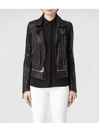 AllSaints Assembly Leather Biker Jacket