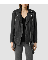 AllSaints Laurel Leather Biker Jacket