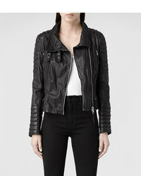 AllSaints Steine Leather Biker Jacket