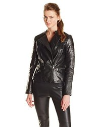 Andrew Marc Marc New York By M Leather Moto Jacket