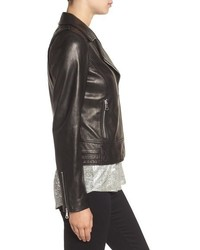 Andrew Marc Marc New York By Nappa Leather Moto Jacket