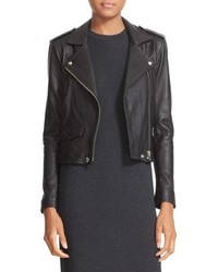 IRO Ashville Lambskin Leather Moto Jacket