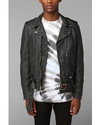 Schott Beatdown Moto Leather Jacket