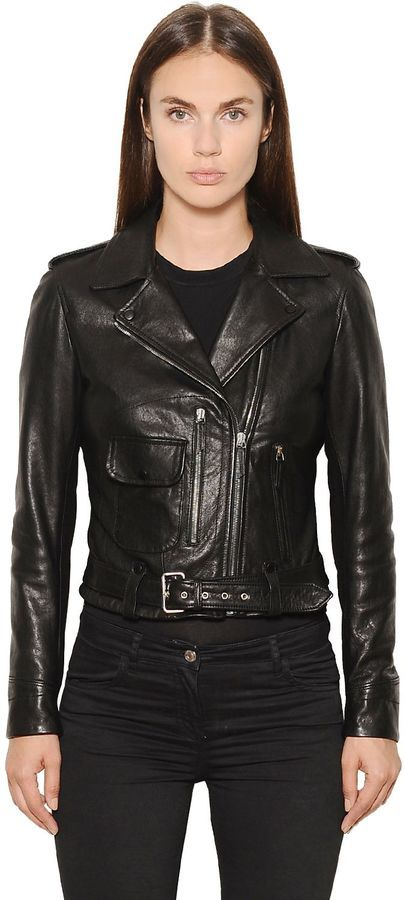 Belstaff Nappa Leather Biker Jacket
