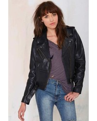 Neuw Berlin Leather Moto Jacket