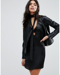 Mango Biker Leather Jacket