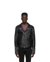 Tiger of Sweden Jeans Black Leather Chylo Jacket