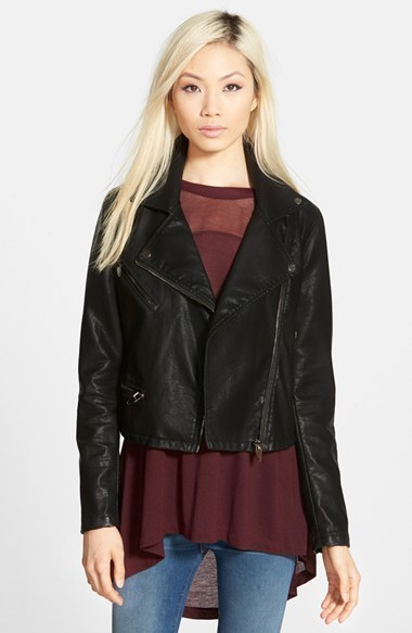 ff34f5a41 Blank NYC Blanknyc Faux Leather Moto Jacket, $98 | Nordstrom ...