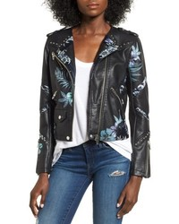 Blanknyc painted moto jacket medium 4953361