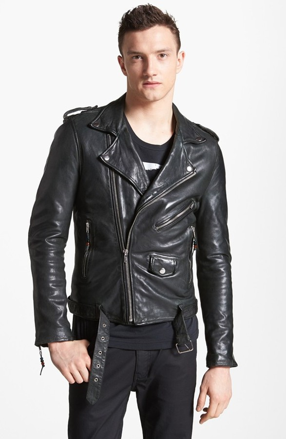 BLK DNM Leather Jacket 5 Leather Moto Jacket | Where to buy &amp how