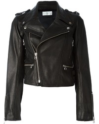 Faith Connexion Boxy Biker Jacket