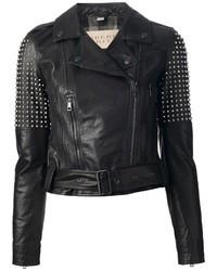 Burberry Brit Studded Biker Jacket