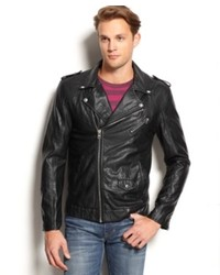 Buffalo David Bitton Faux Leather Moto Jacket