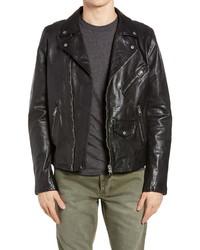 Ksubi Capitol Leather Moto Jacket