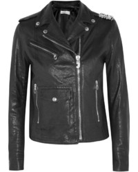 Golden Goose Deluxe Brand Chiodo Chara Embellished Leather Biker Jacket