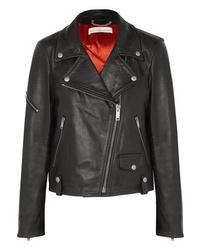 Golden Goose Deluxe Brand Chiodo Textured Leather Biker Jacket