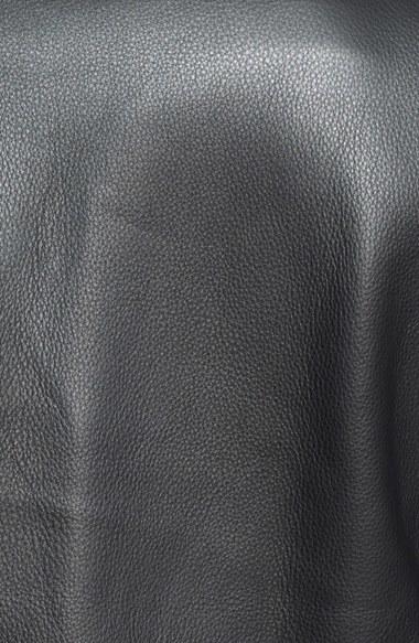 2f81597b7d0 Schott NYC Chips Slim Fit Moto Leather Jacket