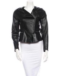 Chloé Leather Moto Jacket W Tags