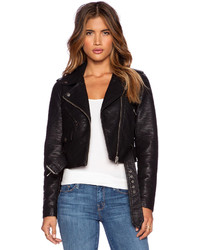 Obey City Moto Vegan Leather Jacket