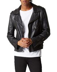 BLANKNYC Cross Fade Motorcycle Jacket