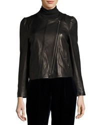 Joie Derica Motorcycle Jacket Black