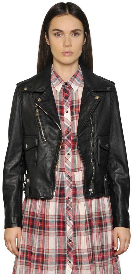 Diesel Smooth Leather Biker Jacket