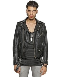 Men&39s Black Leather Jackets by Diesel | Men&39s Fashion
