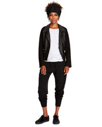 DKNY Moto Leather Jacket