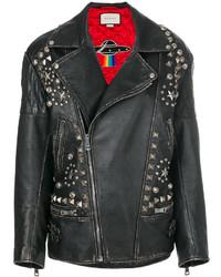Gucci Future Distressed Biker Jacket