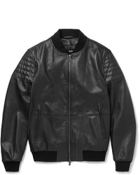 Hugo Boss Gevon Leather Biker Jacket