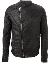 Giorgio Brato Wlg By Perforated Biker Jacket