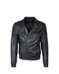 Gipsy Robson Leather Jacket Black