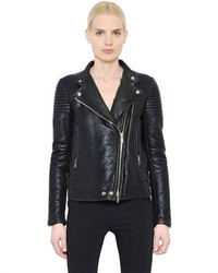 Givenchy Nappa Leather Moto Jacket