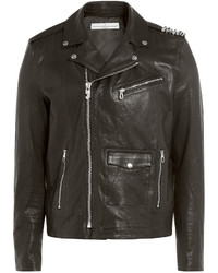 Golden Goose Deluxe Brand Golden Goose Leather Biker Jacket