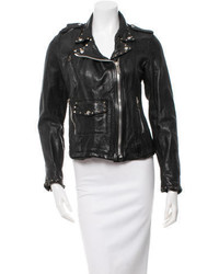 Golden Goose Deluxe Brand Golden Goose Studded Leather Jacket