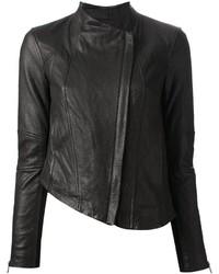 Helmut Lang Asymmetric Biker Jacket